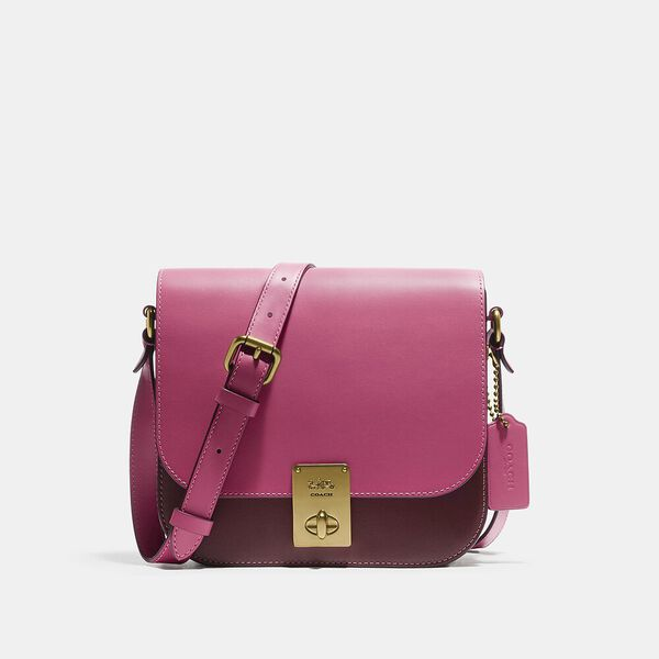 Hutton Saddle Bag In Colorblock
