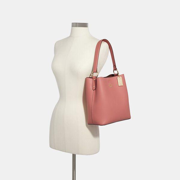 Town Bucket Bag, IM/BLACK OXBLOOD 1, hi-res