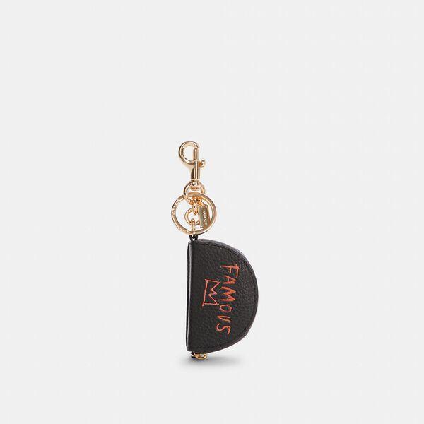 Coach X Jean-Michel Basquiat Mini Half Moon Bag Charm