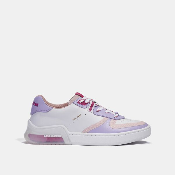 Citysole Court Sneaker, OPTIC WHITE/LILAC, hi-res
