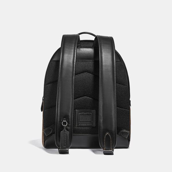 Charter Backpack In Signature Canvas, JI/TAN, hi-res
