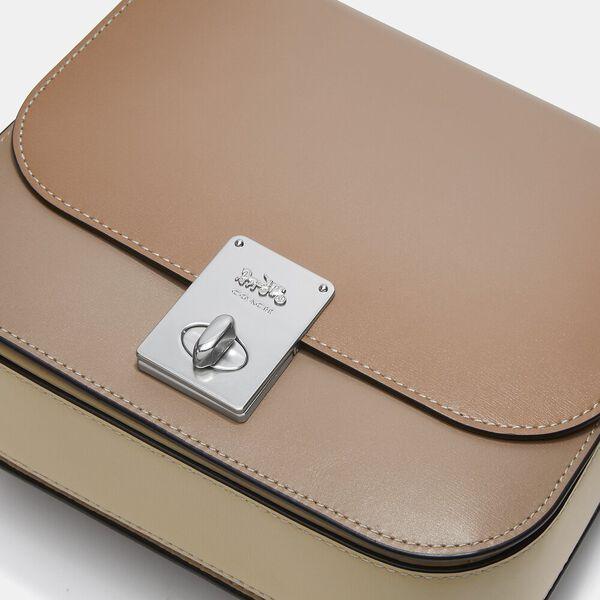 Hutton Saddle Bag In Colorblock, V5/TAUPE, hi-res