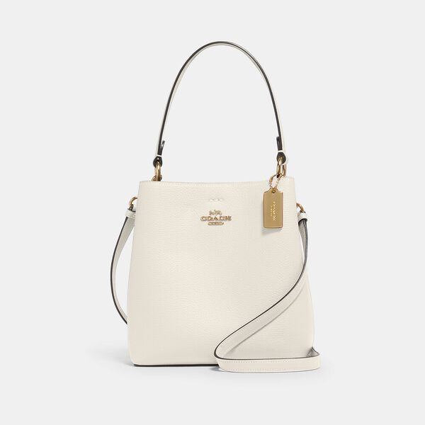 Small Town Bucket Bag, IM/CHALK LIGHT SADDLE, hi-res