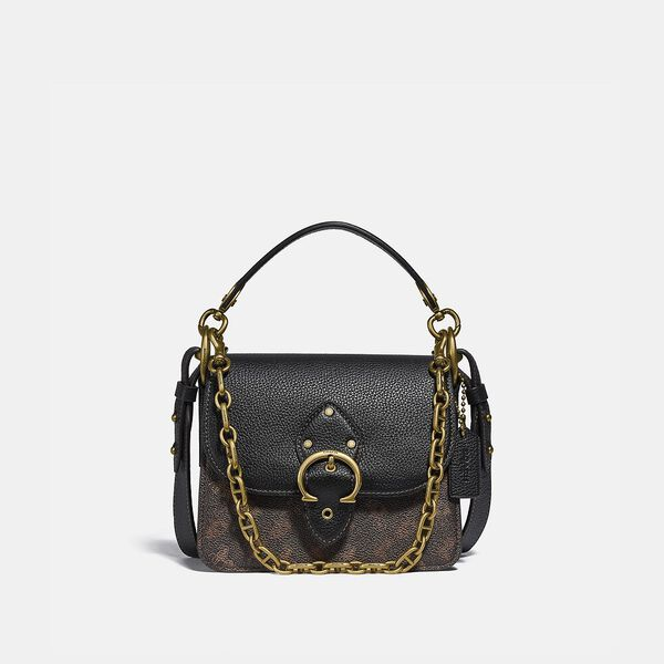 Beat Shoulder Bag 18 With Horse And Carriage Print
