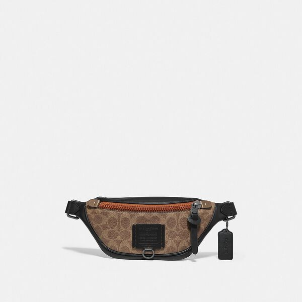 Rivington Belt Bag 7 In Signature Canvas, JI/KHAKI, hi-res
