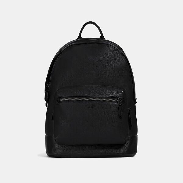 West Backpack, QB/BLACK, hi-res