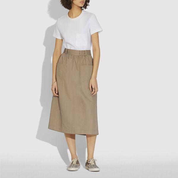 Trench Skirt, MUD, hi-res