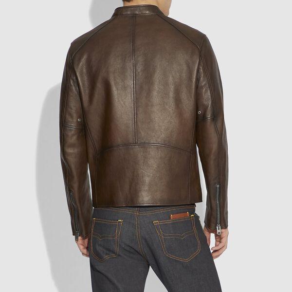 Leather Racer, DARK SADDLE, hi-res
