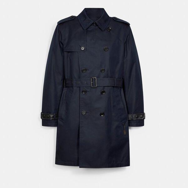 Trench Coat, MIDNIGHT NAVY, hi-res