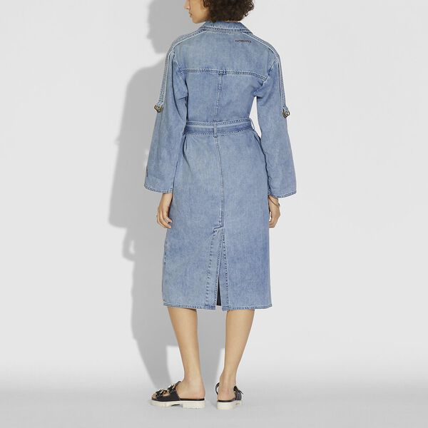 Denim Dress, VINTAGE STONE WASH, hi-res