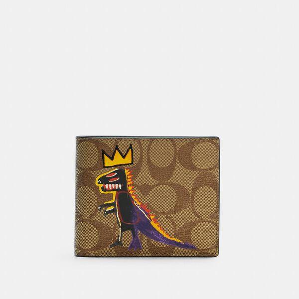 Coach X Jean-Michel Basquiat 3-In-1 Wallet In Signature Canvas