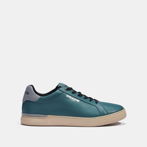 Clip Low Top Sneaker, DARK SEA GREEN, hi-res