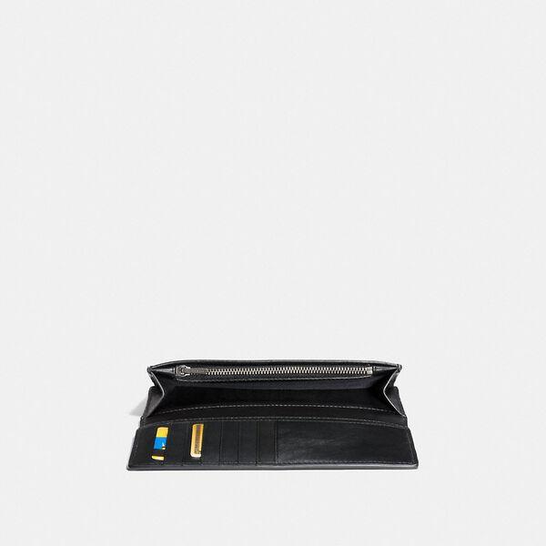 Breast Pocket Wallet In Signature Leather, BLACK, hi-res