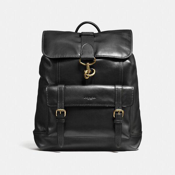 Bleecker Backpack, OL/BLACK, hi-res
