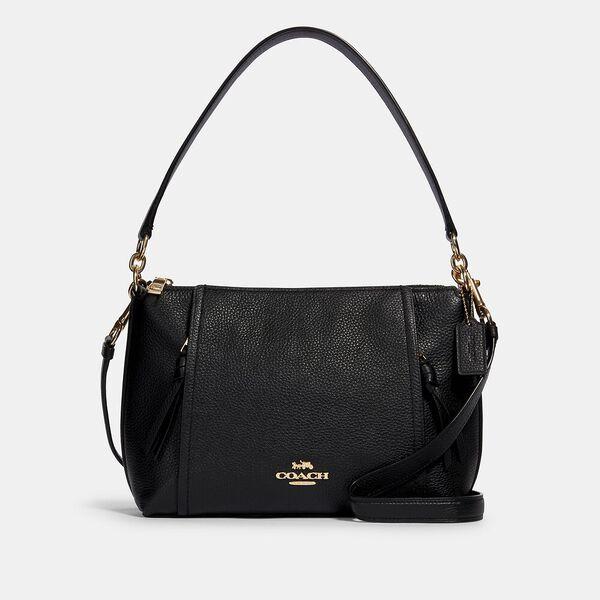 Small Marlon Shoulder Bag, IM/BLACK, hi-res