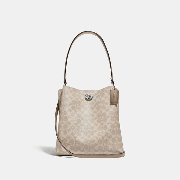Charlie Bucket Bag In Signature Canvas