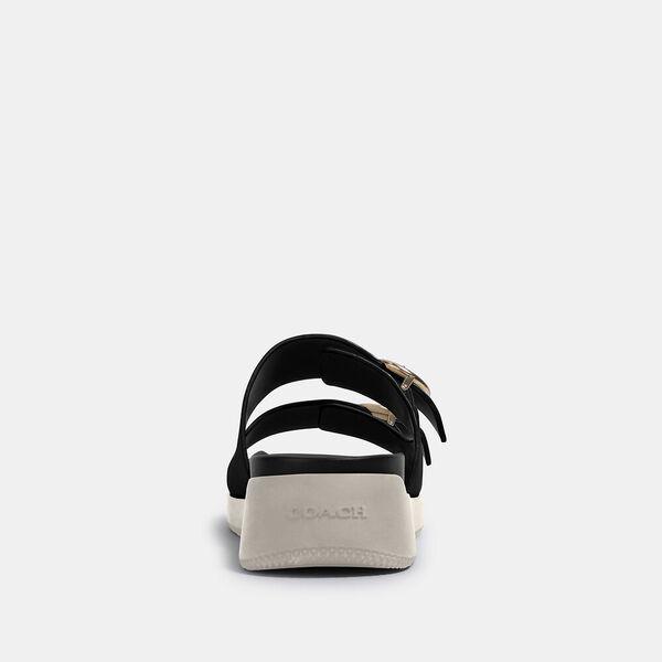Gable Sandal, BLACK, hi-res