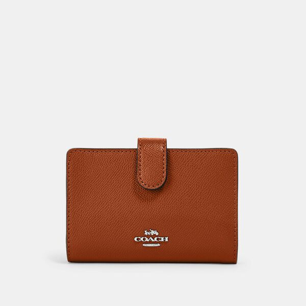 Medium Corner Zip Wallet, IM/SEDONA, hi-res