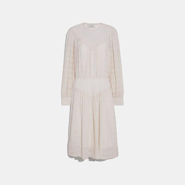 Plaid Yoke Dress
