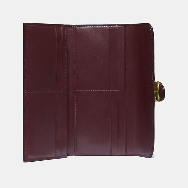 Tabby Long Wallet In Colorblock, B4/CONFETTI PINK MULTI, hi-res