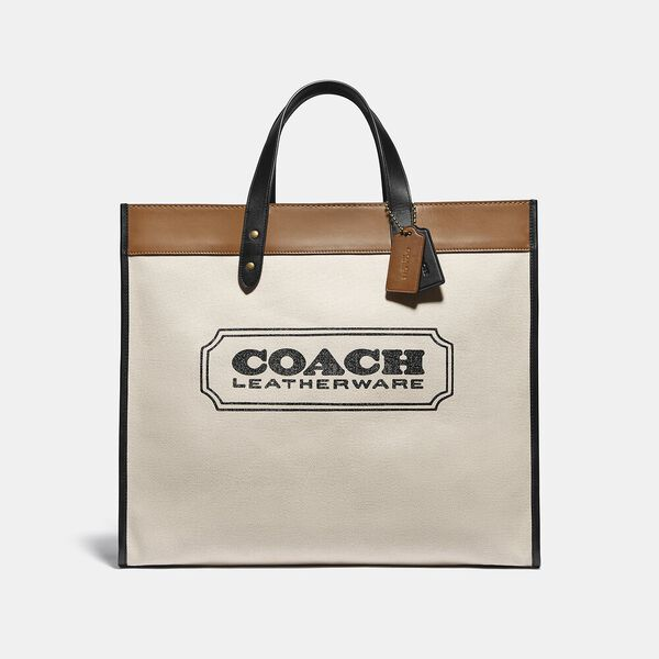 Field Tote 40 With Coach Badge