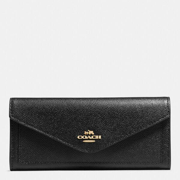 Soft Wallet, LI/BLACK, hi-res