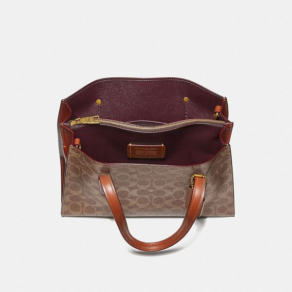 Charlie Carryall 28 In Signature Canvas, B4/RUST, hi-res