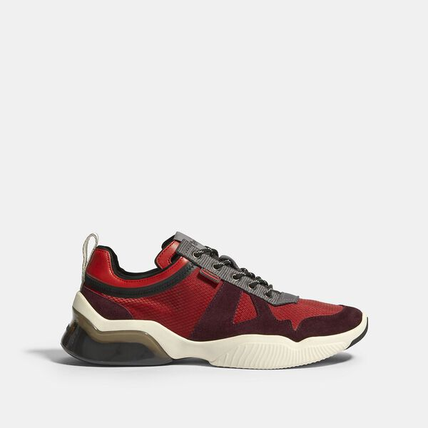 Citysole Runner In Colorblock, SPORT RED OXBLOOD, hi-res