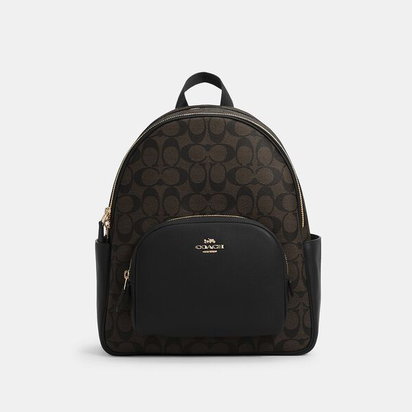 Court Backpack In Signature Canvas