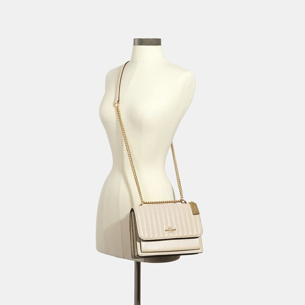 Klare Crossbody With Linear Quilting, IM/CHALK, hi-res