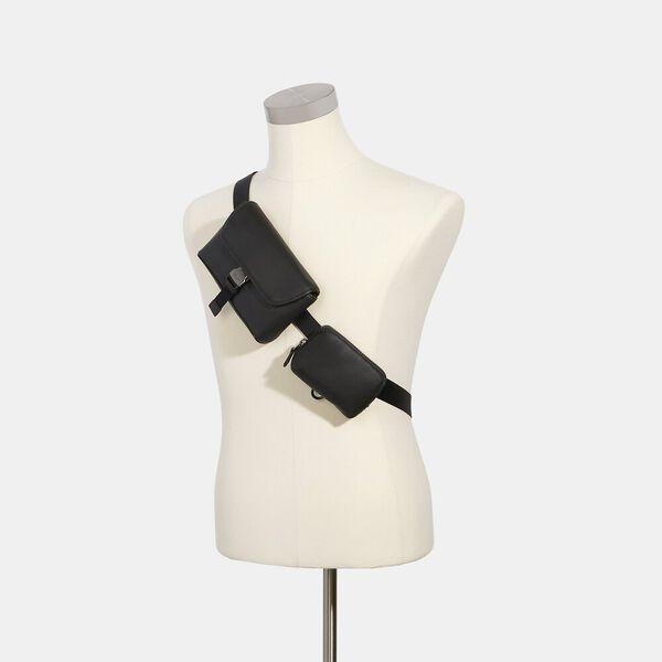 Rider Double Belt Bag, QB/BLACK, hi-res