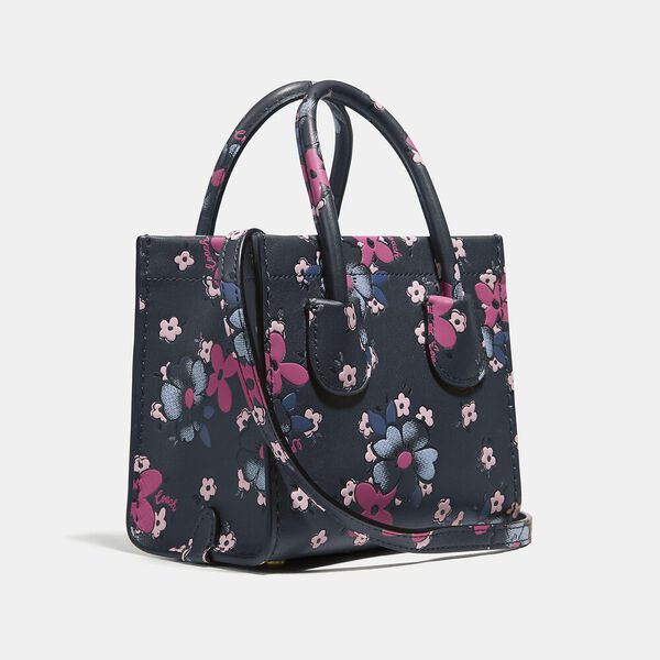 Cashin Carry Tote 14 With Blocked Floral Print, B4/MULTI, hi-res
