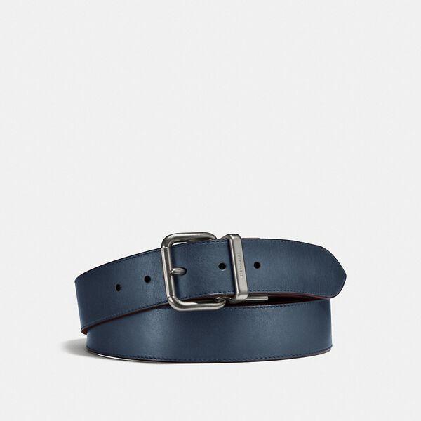 Jeans Buckle Cut-To-Size Reversible Belt