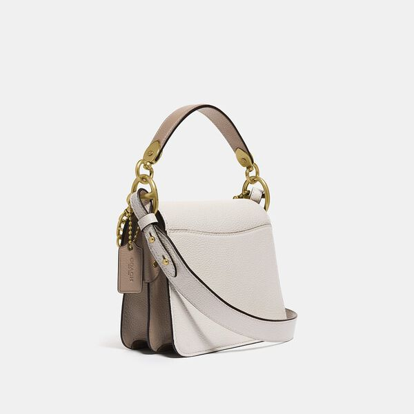 Beat Shoulder Bag 18 With Horse And Carriage Print, B4/CHALK TAUPE, hi-res