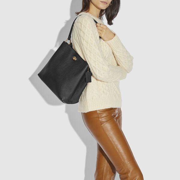Charlie Bucket Bag, GD/BLACK, hi-res
