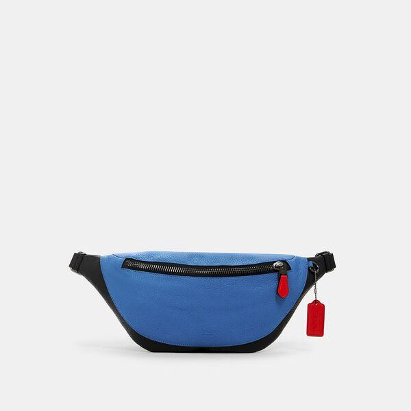 Warren Belt Bag, QB/BLUE JAY MIAMI RED, hi-res