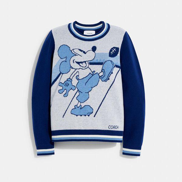 Disney X Coach Mickey Mouse Jacquard Sweater