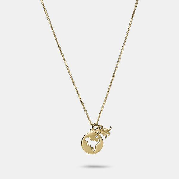 Rexy Cutout Necklace, GOLD, hi-res