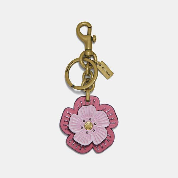 Tea Rose Bag Charm