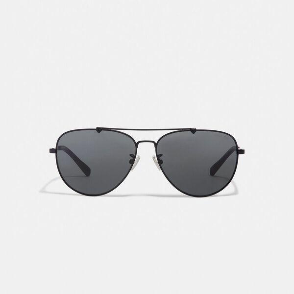 Wire Frame Pilot Sunglasses