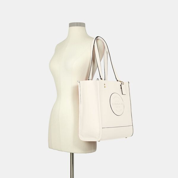 Dempsey Tote With Patch, IM/CHALK, hi-res