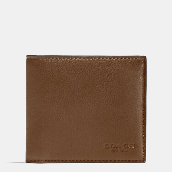 Double Billfold Wallet, DARK SADDLE, hi-res