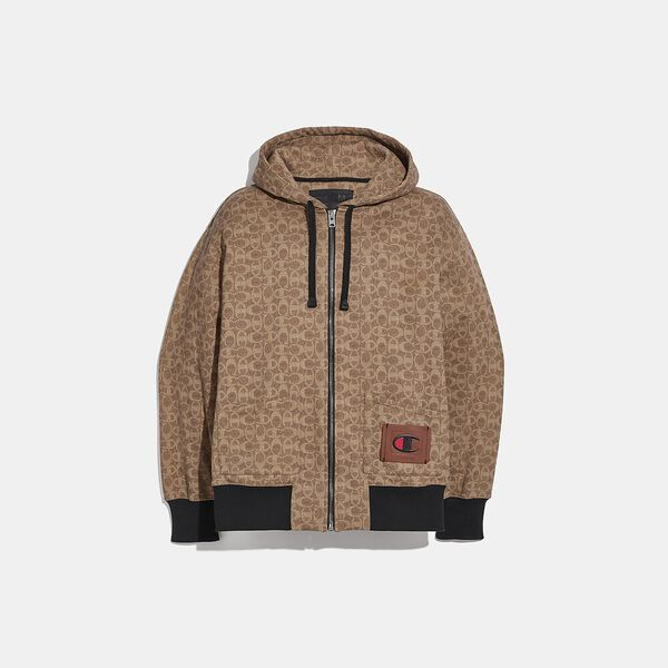 Coach X Champion Full Zip Hoodie