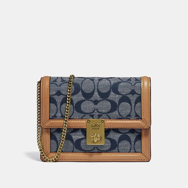 Hutton Belt Bag In Signature Chambray