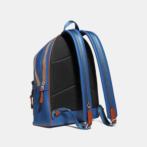 Academy Backpack With Varsity Zipper, SV/PACIFIC, hi-res