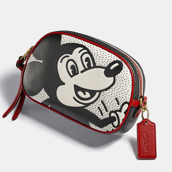 Disney Mickey Mouse X Keith Haring Badge Camera Crossbody, B4/CHALK MULTI, hi-res