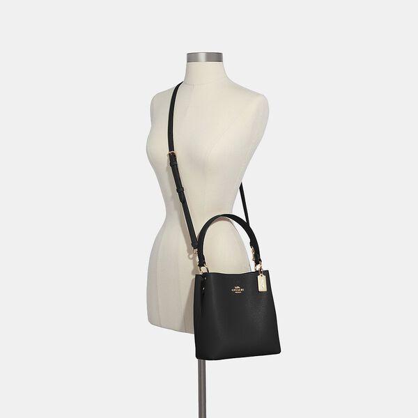 Small Town Bucket Bag, IM/BLACK OXBLOOD 1, hi-res