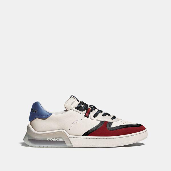 Citysole Court Sneaker In Colorblock, CHALK DARK CARDINAL, hi-res