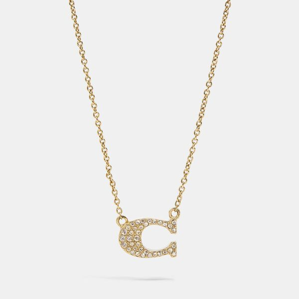 Pave Signature Necklace