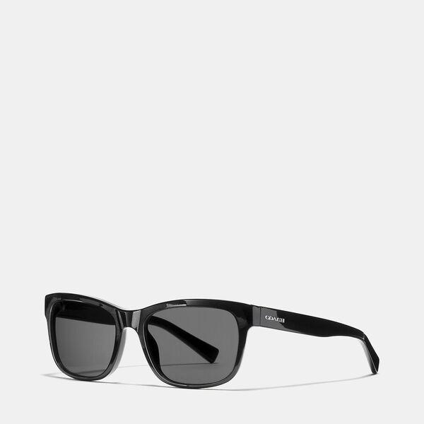 Hudson Rectangle Sunglasses, BLK GREY, hi-res